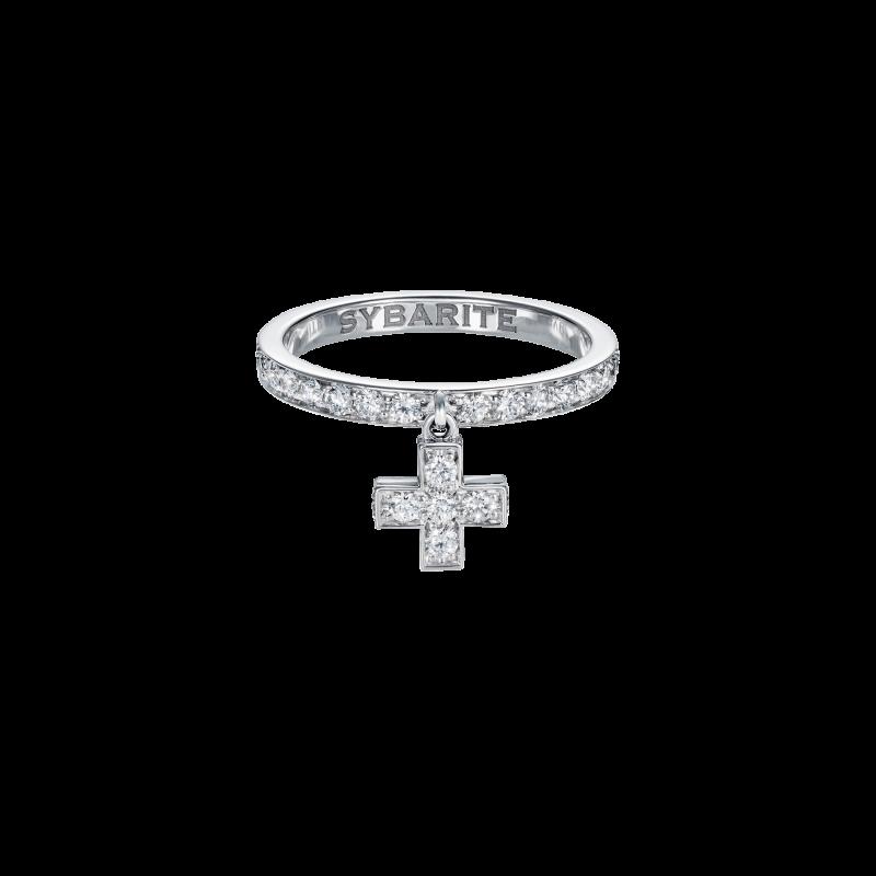 Cross Ring  CR3.04  Sybarite Jewellery - image 0