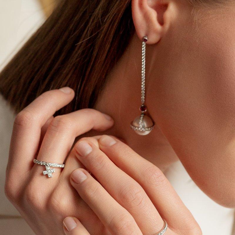 Cross Ring  CR3.04  Sybarite Jewellery - image 1