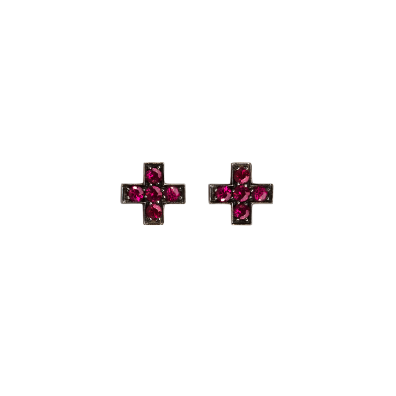 Cross Earrings CE3.115 Sybarite Jewellery - image 0