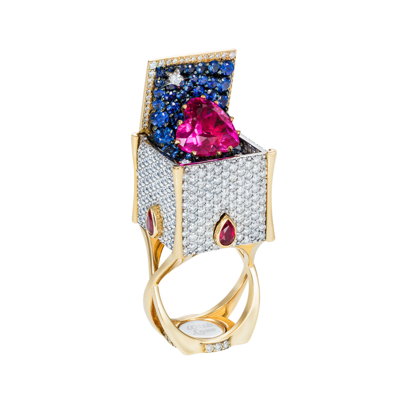 Heart in the Box Ring HBR12.30 Sybarite Jewellery - image 0