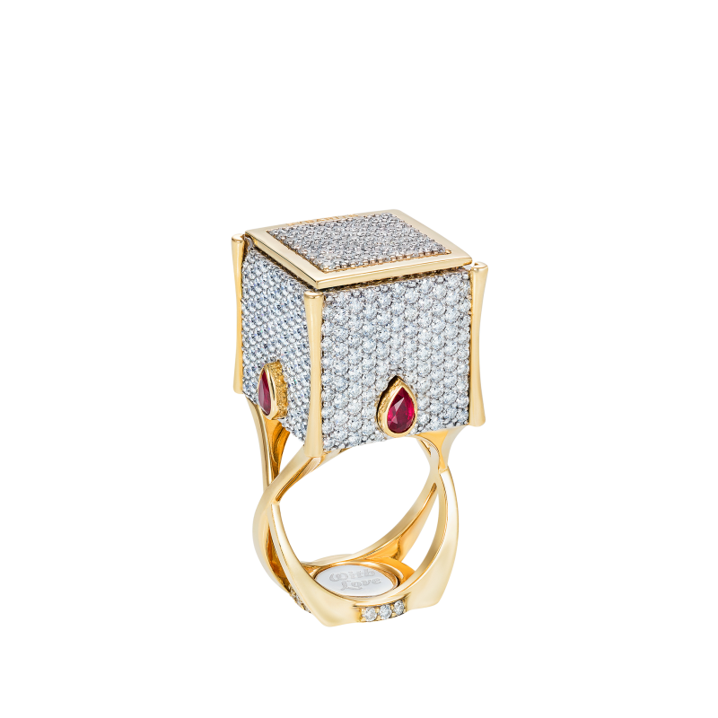Heart in the Box Ring HBR12.30 Sybarite Jewellery - image 1