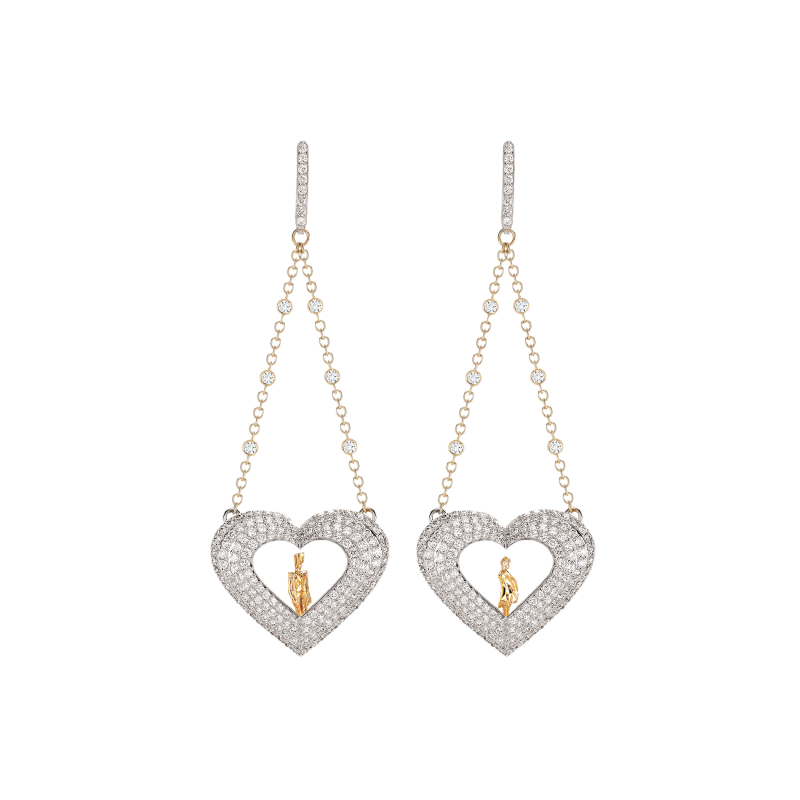 Lovers Earrings LE11.04.2  Sybarite Jewellery - image 0