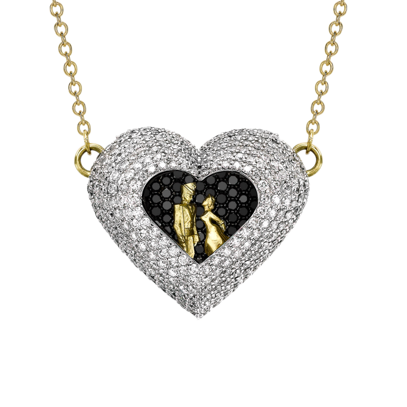 Heart Necklace  HP11.04.25  Sybarite Jewellery - image 1