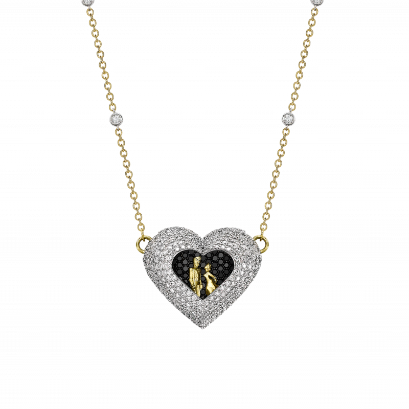 Heart Necklace  HP11.04.25  Sybarite Jewellery - image 0