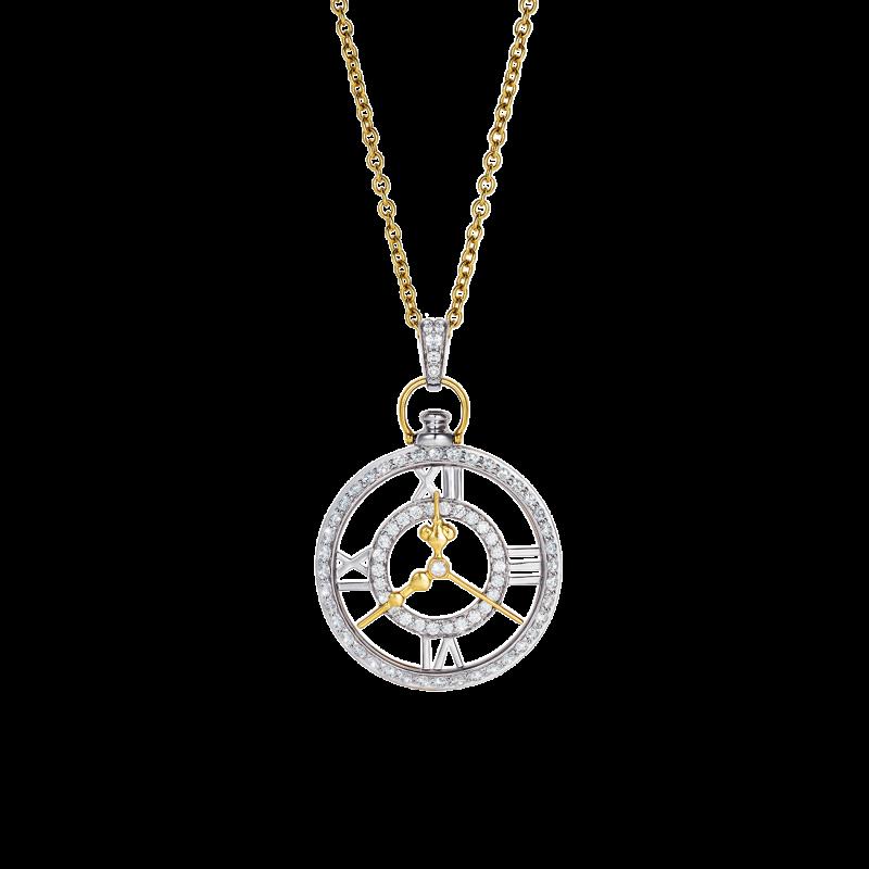 Clockwork Pendant  CP11.24.20  Sybarite Jewellery - image 0
