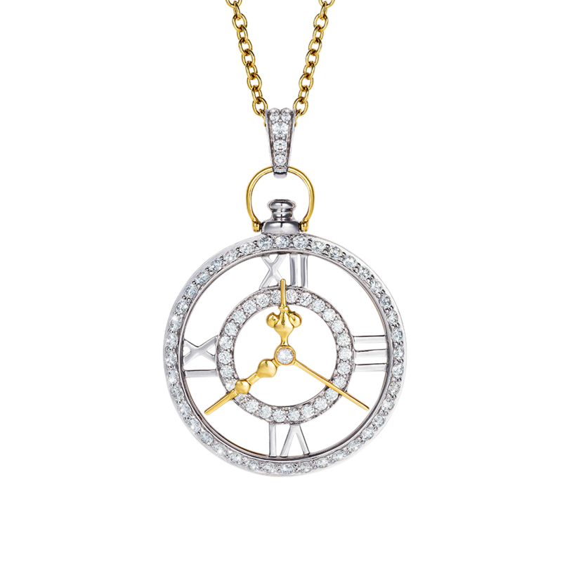 Clockwork Pendant  CP11.24.20  Sybarite Jewellery - image 1