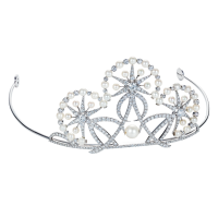 Dandelion Wedding Tiara