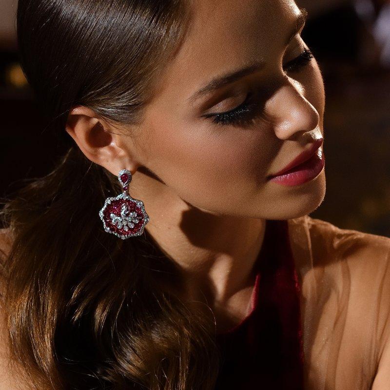 Prima Ballerina Earrings DBE-S 01040 Sybarite Jewellery - image 2