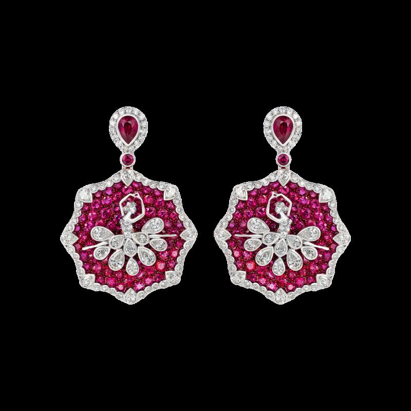 Prima Ballerina Earrings DBE-S 01040 Sybarite Jewellery - image 0