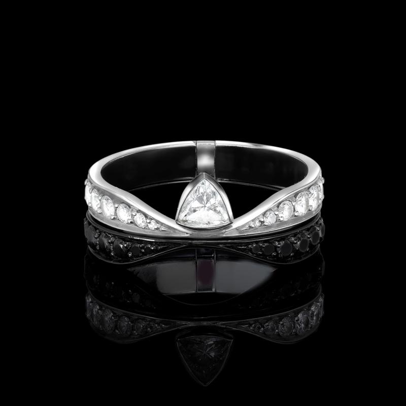 Men's Transformer Ring SR7.0415 Sybarite Jewellery - image 2