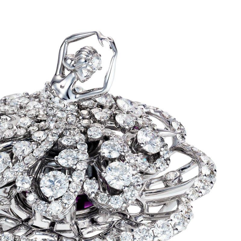 Prima Ballerina Ring (petite) DBSR11.050 Sybarite Jewellery - image 1