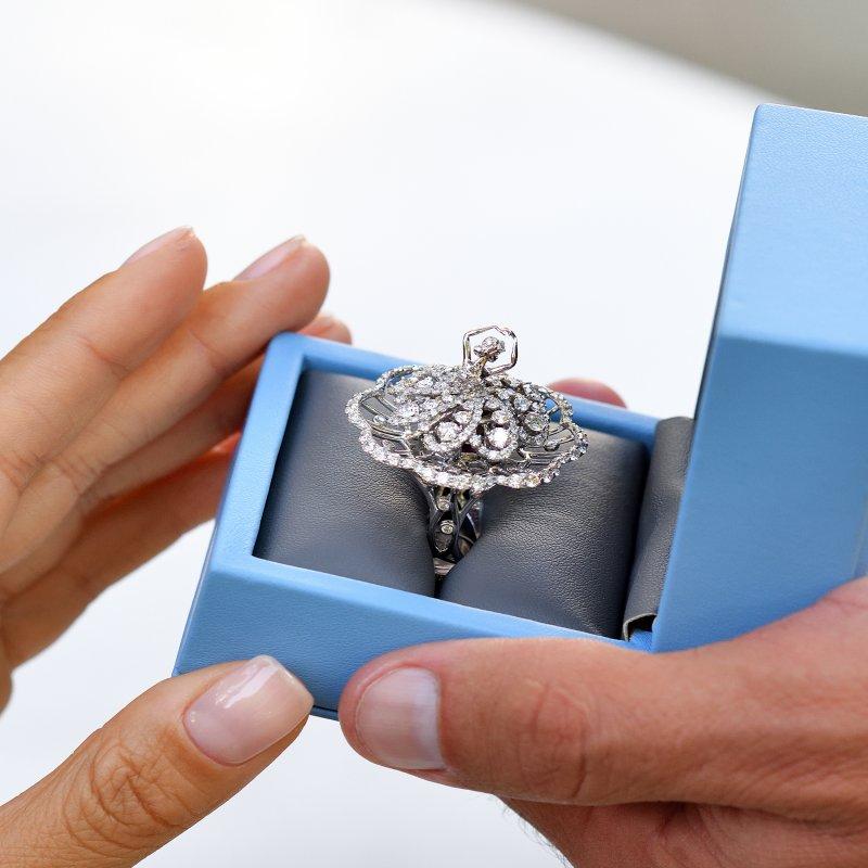 Prima Ballerina Ring (petite) DBSR11.050 Sybarite Jewellery - image 2