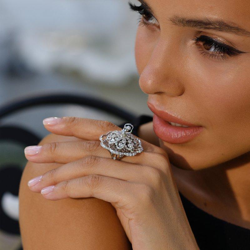 Prima Ballerina Ring (petite) DBSR11.050 Sybarite Jewellery - image 3