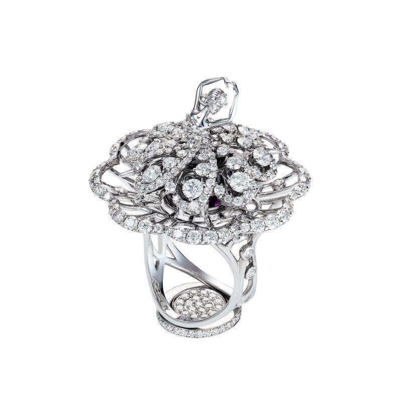 Prima Ballerina Ring (petite) DBSR11.050 Sybarite Jewellery - image 0