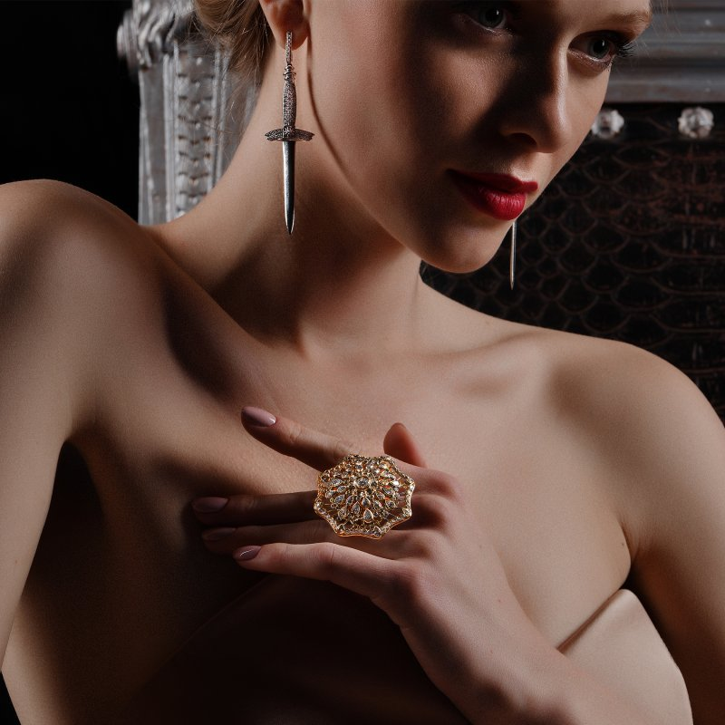 Tutu Ring TTR11.01 Sybarite Jewellery - image 2