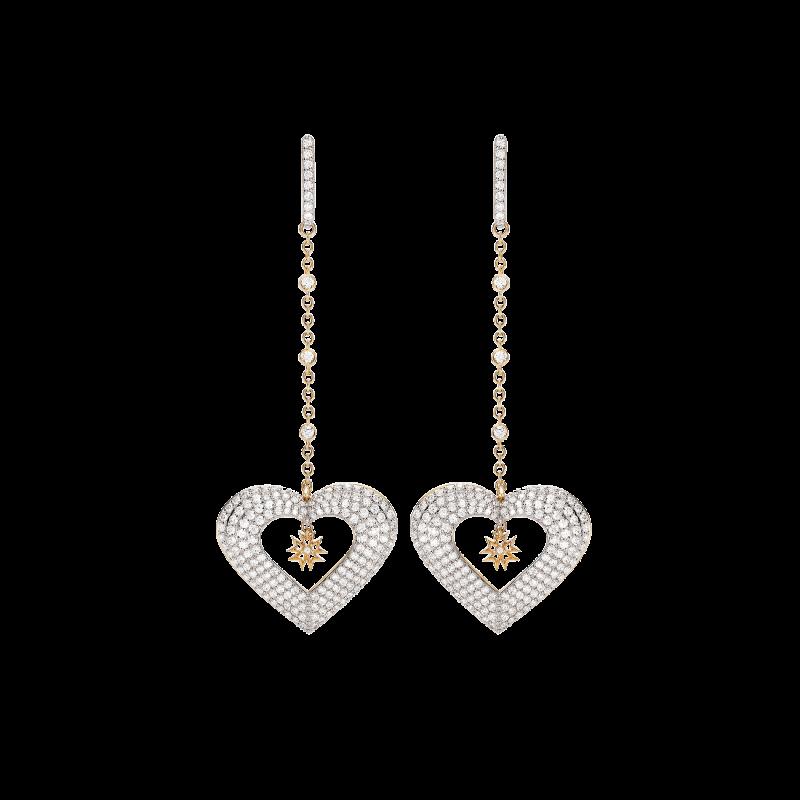 Hearts Earrings HE11.04.5 Sybarite Jewellery - image 0