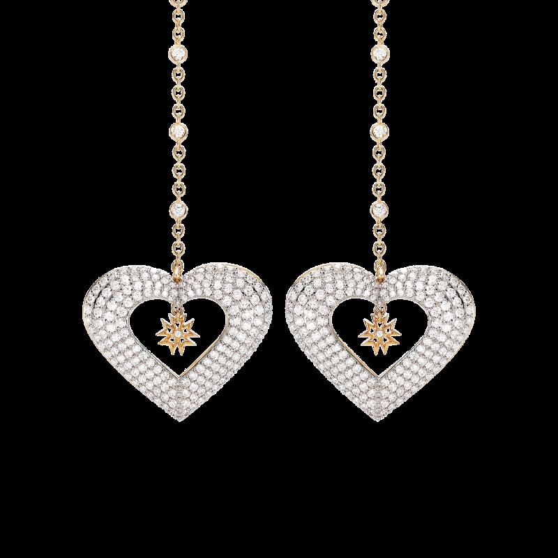 Hearts Earrings HE11.04.5 Sybarite Jewellery - image 1