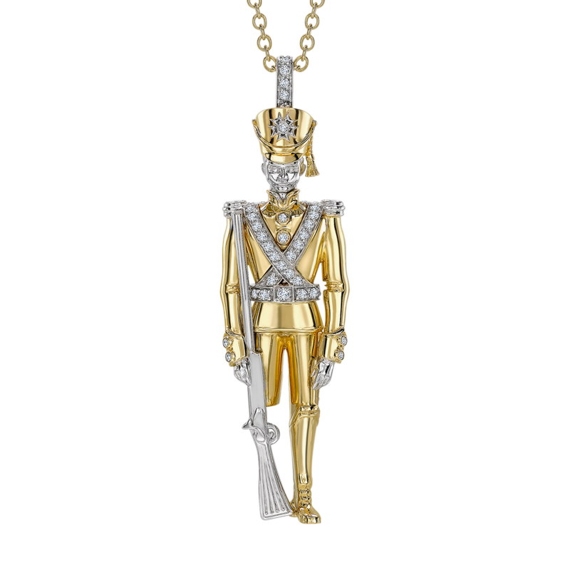 Soldier Pendant SP11.24.0 Sybarite Jewellery - image 1