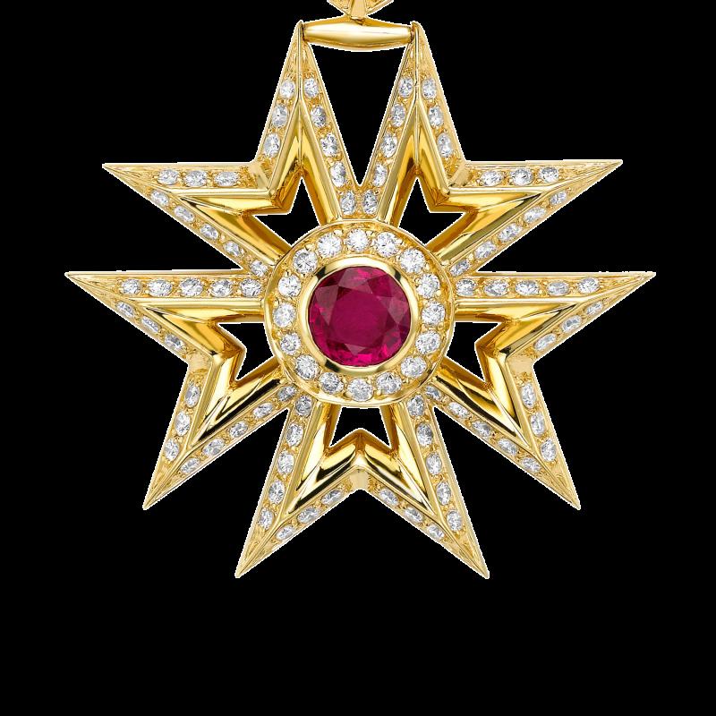 Sybarite Medal MB11.24.15 Sybarite Jewellery - image 1