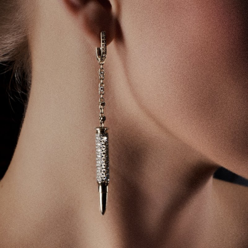 Bullets Earrings BE10.04 Sybarite Jewellery - image 1