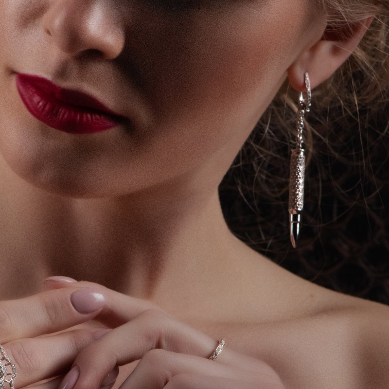 Bullets Earrings BE10.04 Sybarite Jewellery - image 2