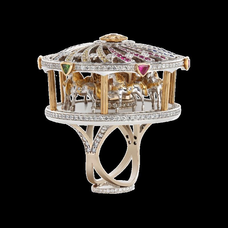 Merry Go Round Ring MHR4.042.S Sybarite Jewellery - image 0