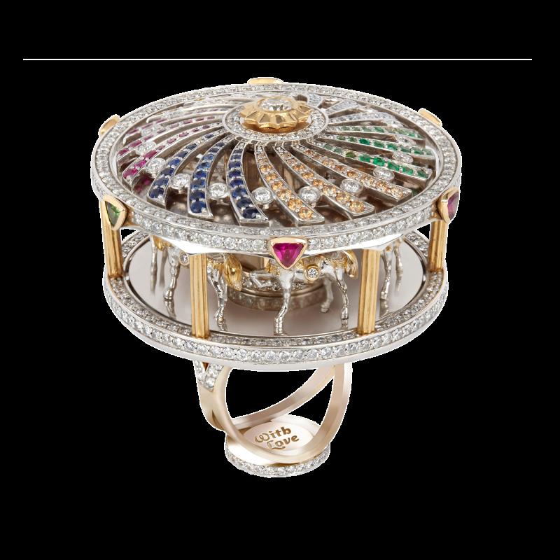 Merry Go Round Ring MHR4.042.S Sybarite Jewellery - image 1