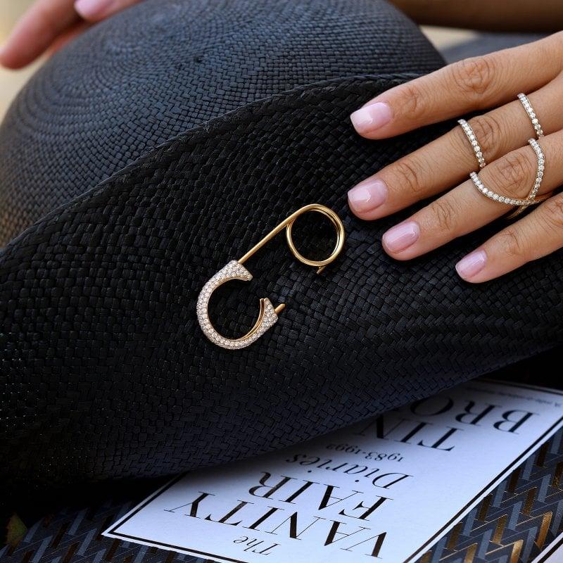 Safety Pin Ring