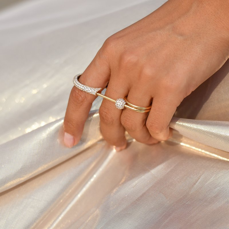 Safety Pin Ring  SPR9.20.20  Sybarite Jewellery - image 4